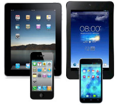 smartphone tablet ipad iphone
