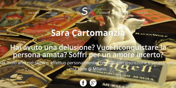Astrologia Cartomanzia Sara opera a Milano, in provincia di Milano e tutta la Lombardia. Sono specializzata in problemi d'amore: un buon cartomante deve conoscere perfettamente e in profondità, il significato di ciascuna carta.