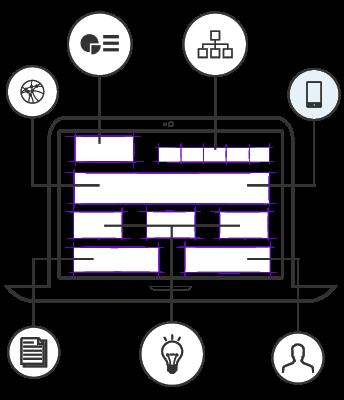 Portale web di design