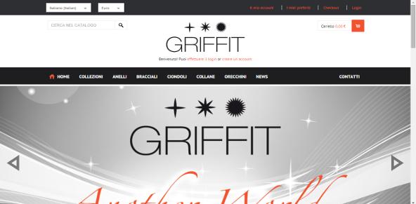 Nuova espressione artistica della gioielleria made in Italy e del fashion design, GRIFFIT produce e vende online anelli, orecchini, ciondoli, collane e bracciali finemente lavorati.